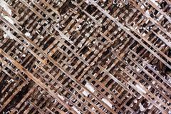 Textura do fundo de madeira velho fotos de stock