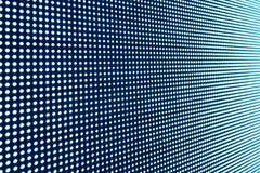 Textura do fundo de tela da exposição do diodo emissor de luz Imagem de Stock