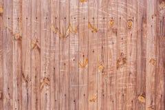 Textura do fundo de uma parede de madeira velha Imagens de Stock Royalty Free