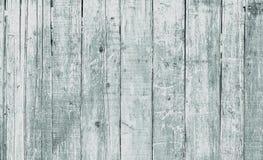 Textura do fundo do branco velho pintada de madeira Fotos de Stock Royalty Free