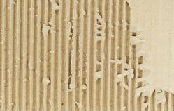 Textura do fundo do cartão ondulado Imagens de Stock Royalty Free
