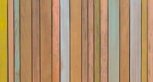 A textura do fundo do forro de madeira pintado velho embarca Fotos de Stock Royalty Free