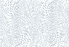 Textura do fundo do Guilloche - ziguezague verde Para o certificado, o comprovante, cédula, comprovante, projeto do dinheiro, moe Fotografia de Stock Royalty Free