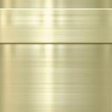 Textura do fundo do metal do ouro Foto de Stock