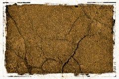 Textura do fundo do pavimento com frame Foto de Stock Royalty Free