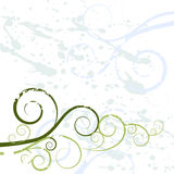 Textura do fundo do redemoinho de Grunge Imagens de Stock Royalty Free