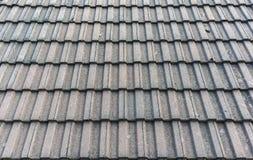 Textura do fundo do telhado de telha Fotografia de Stock Royalty Free
