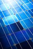 Textura do fundo do teste padrão das células solares Imagem de Stock