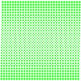 Textura do fundo dos pontos com verde do inclinação no branco ilustração stock