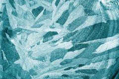 Textura do fundo do gelo imagem de stock