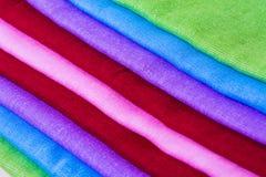 Textura do fundo material da amostra da tela Foto de Stock