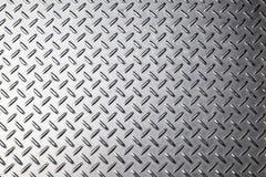 Textura do fundo do metal Placa do diamante fotos de stock