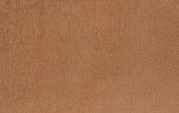 Textura do fundo do muro de cimento de Brown para compor foto de stock