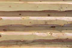 Textura do fundo Parede de madeira leve nova feita das placas fotografia de stock