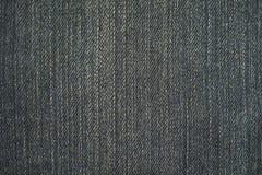 Textura do fundo preto das calças de brim Imagem de Stock Royalty Free