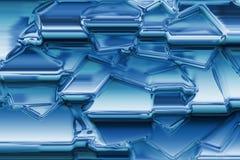 Textura do gelo Fotografia de Stock