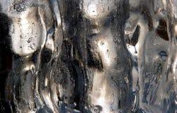 Textura do gelo Foto de Stock