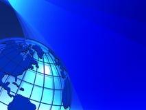 Textura do globo Imagem de Stock Royalty Free