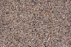 Textura do granito, base vermelha com preto e Gray Spots Fotos de Stock