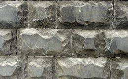 Textura do granito das paredes de pedra Fotos de Stock