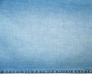 Textura do grunge da sarja de Nimes Close-up das calças de brim Imagem de Stock Royalty Free