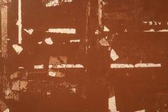 Textura do grunge de Brown Fotografia de Stock