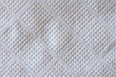Textura do guardanapo de papel Fotografia de Stock