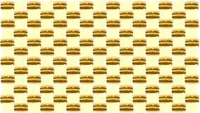 A textura do hamburguer e do queijo ilustração do vetor