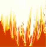 Textura do incêndio ilustração royalty free