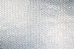 Textura do invólucro com bolhas de ar Imagens de Stock