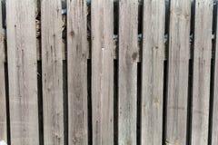 A textura do inverno da cerca de madeira Foto de Stock