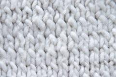 Textura do knit do algodão fotos de stock