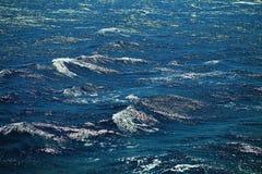 Textura do mar Fotografia de Stock Royalty Free