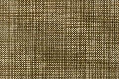 Textura do marrom áspero de serapilheira da lona foto de stock