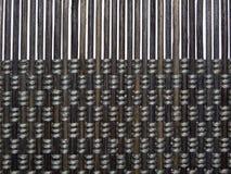 Textura do marrom no bambu Imagens de Stock