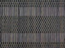 Textura do marrom no bambu Imagem de Stock