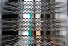 Textura do metal fotos de stock royalty free
