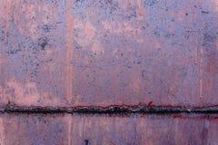 Textura do metal com riscos e quebras Imagens de Stock