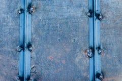 Textura do metal com riscos e quebras Imagem de Stock