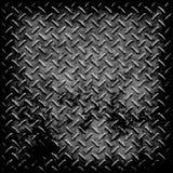 Textura do metal da placa do diamante ilustração do vetor