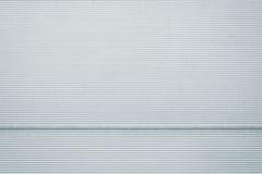 Textura do metal da porta da garagem Imagens de Stock