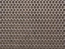 Textura do metal de Chrome Fotografia de Stock