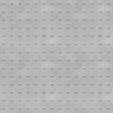Textura do metal do fundo com rebites Foto de Stock