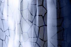 Textura do metal do fundo com teste padrão do polígono Fotos de Stock Royalty Free