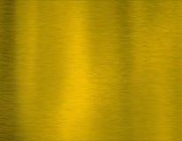 Textura do metal do ouro Imagem de Stock