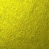 Textura do metal do ouro da rocha Fotos de Stock