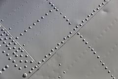 A textura do metal do equipamento militar fotos de stock