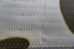 A textura do metal do equipamento militar foto de stock