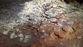 Textura do metal oxidado Corrosão do metal Fundo abstrato oxidado imagens de stock