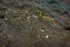 Textura do minério de ferro Fotografia de Stock